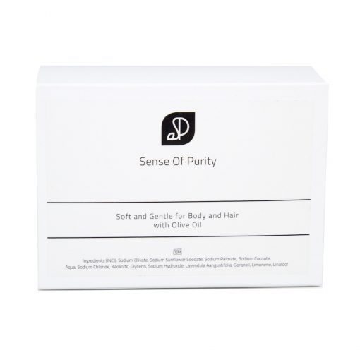 Sense of Purity Lavendel Zeep achterkant