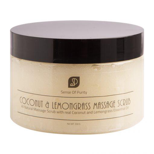 Coconut & Lemongrass Massage Scrub